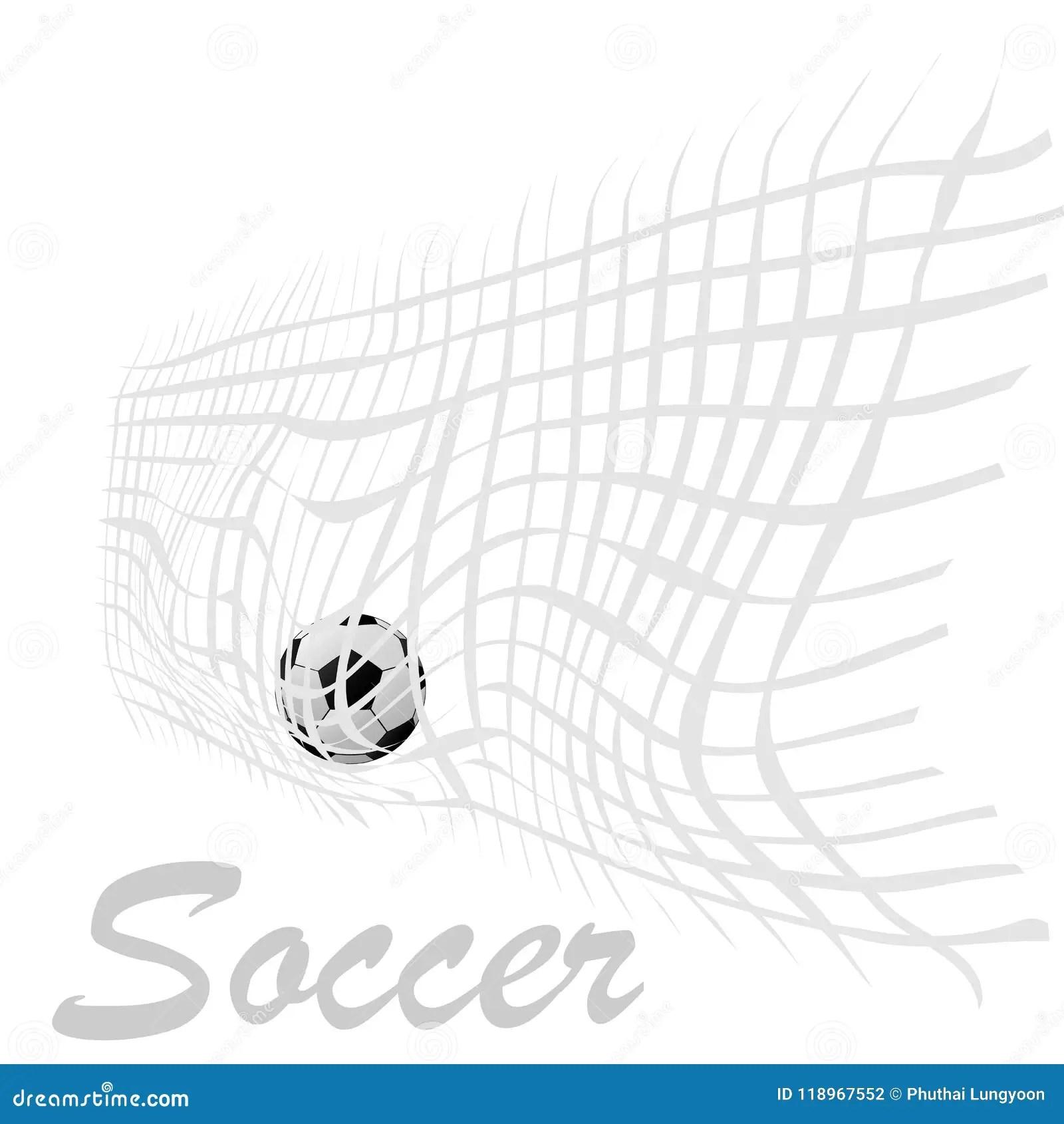 Football Web Button Cartoon Vector