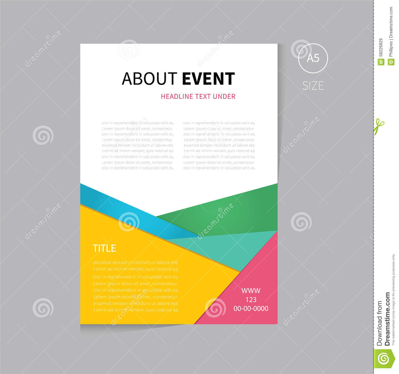Free Presentation Flyer Template Dolap Magnetband Co