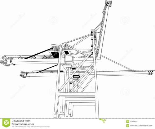 small resolution of vector building tower crane