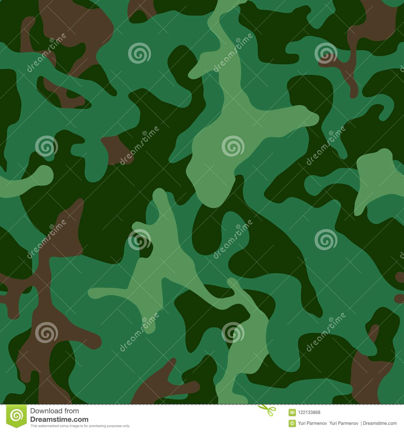 seamless camouflage pattern military