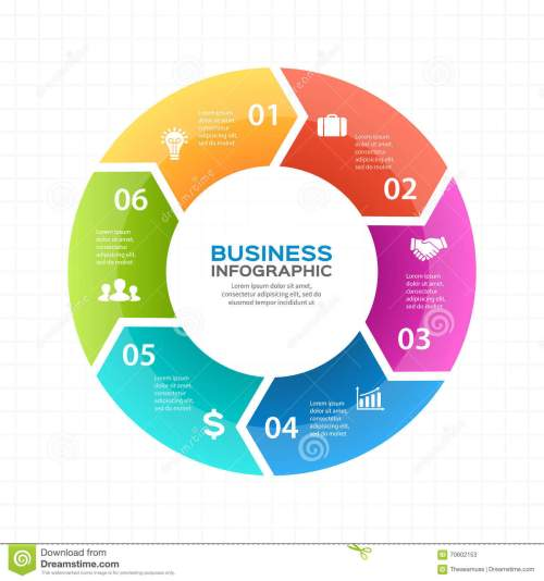 small resolution of vector circle arrows infographic diagram graph presentation chart business cycle concept