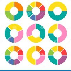 3 Arrow Circle Diagram Mercedes Benz Atego Wiring Vector Arrows For Infographic Stock Image