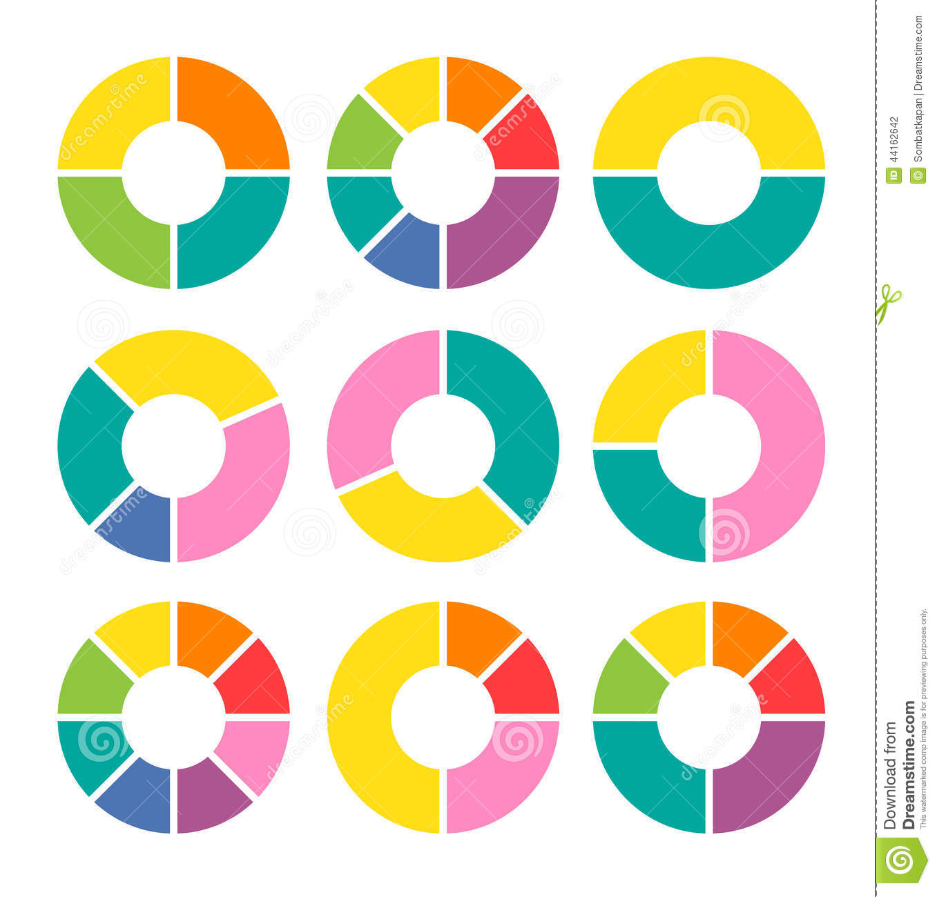 free circular arrow diagram template car trailer wiring with brakes vector circle arrows for infographic stock image