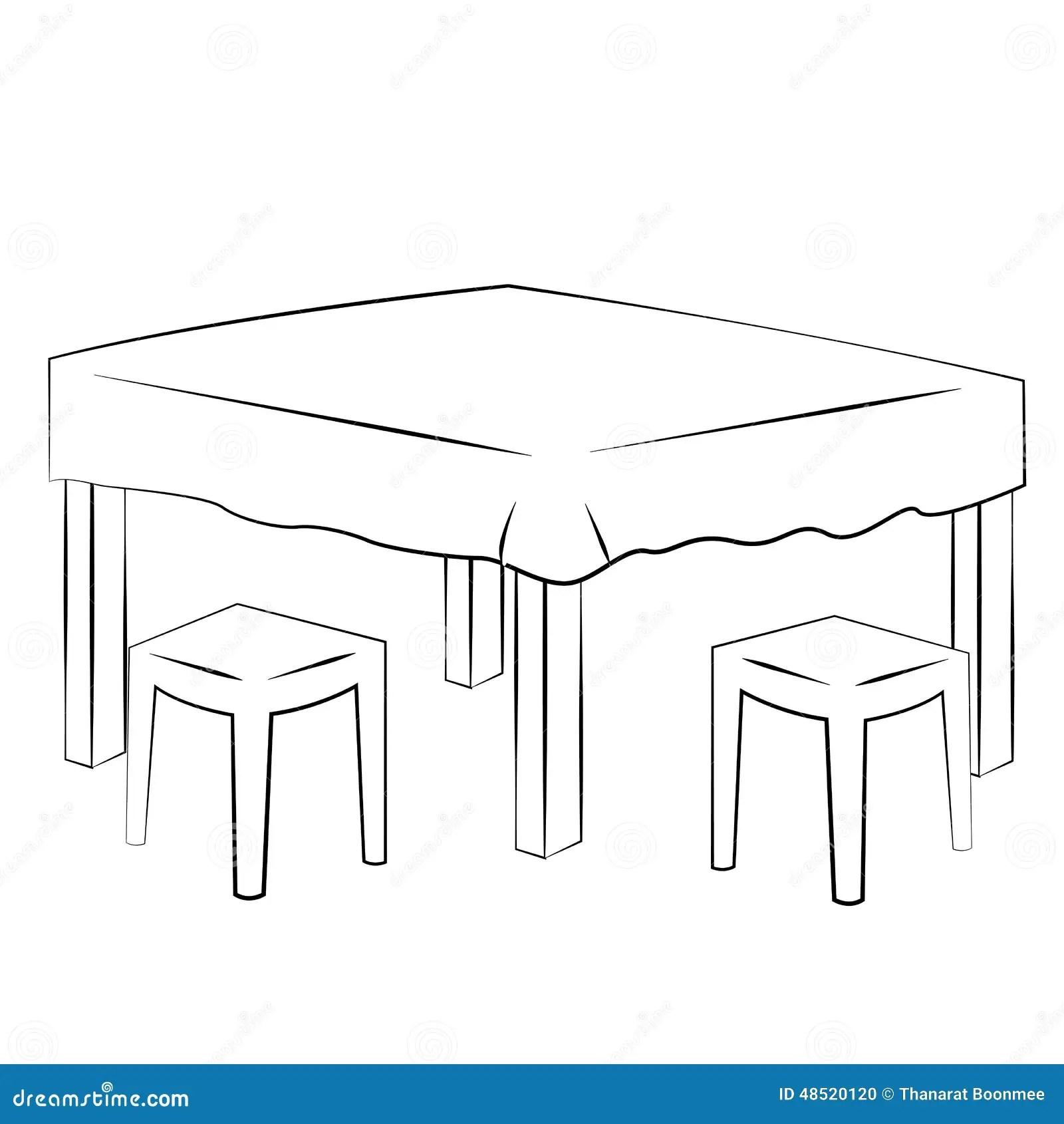 Vector De Dinning Ilustracion Del Vector