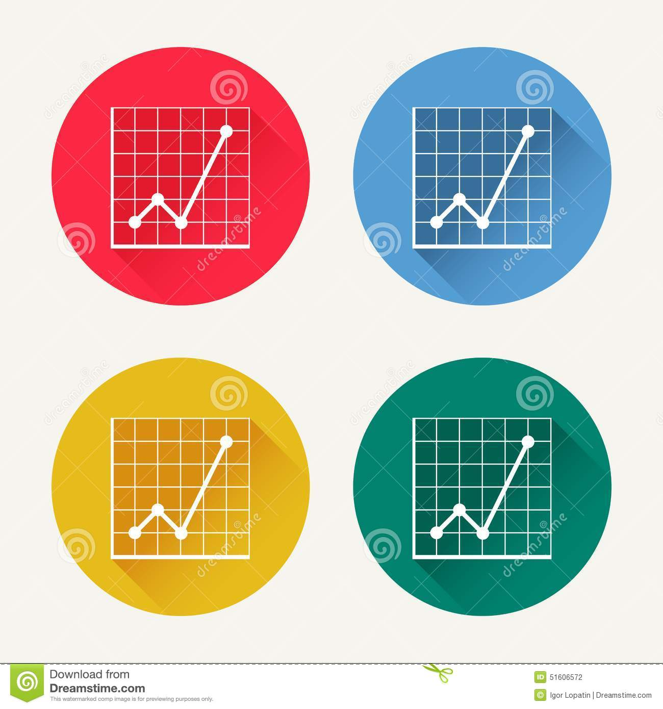 hight resolution of vector diagram icon set
