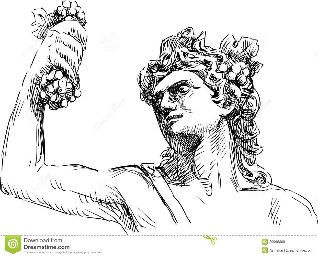 Dionysus Royalty Free Stock Photos