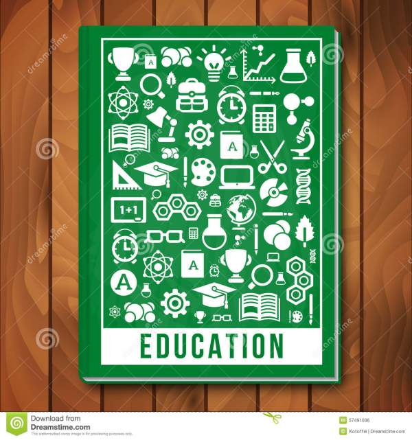 Vector Education Concept. -learning And Science Stock
