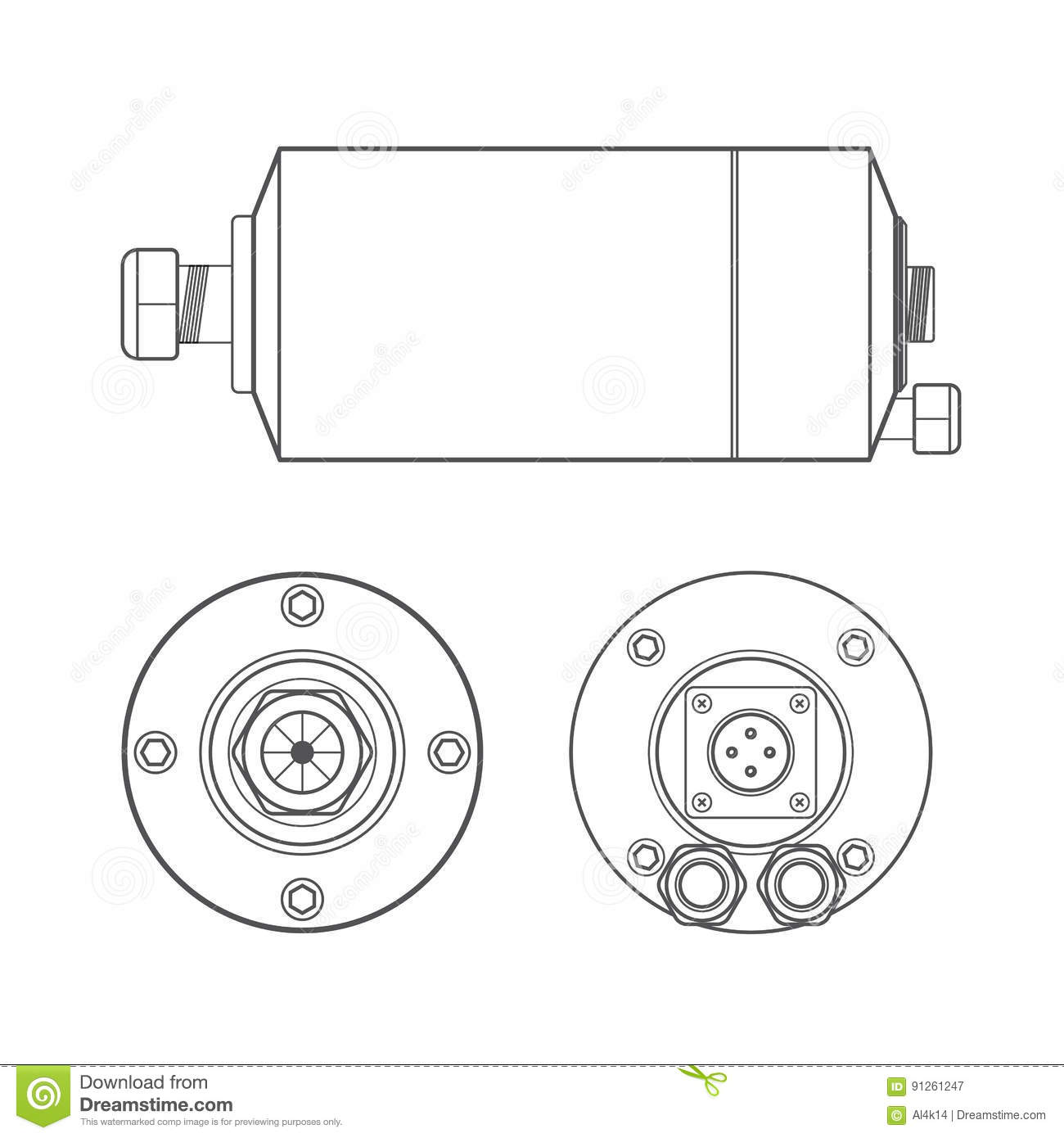 electric motor rotor cooling