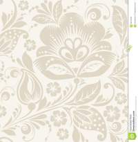 Vector Floral Vintage Rustic Seamless Pattern Stock Vector ...