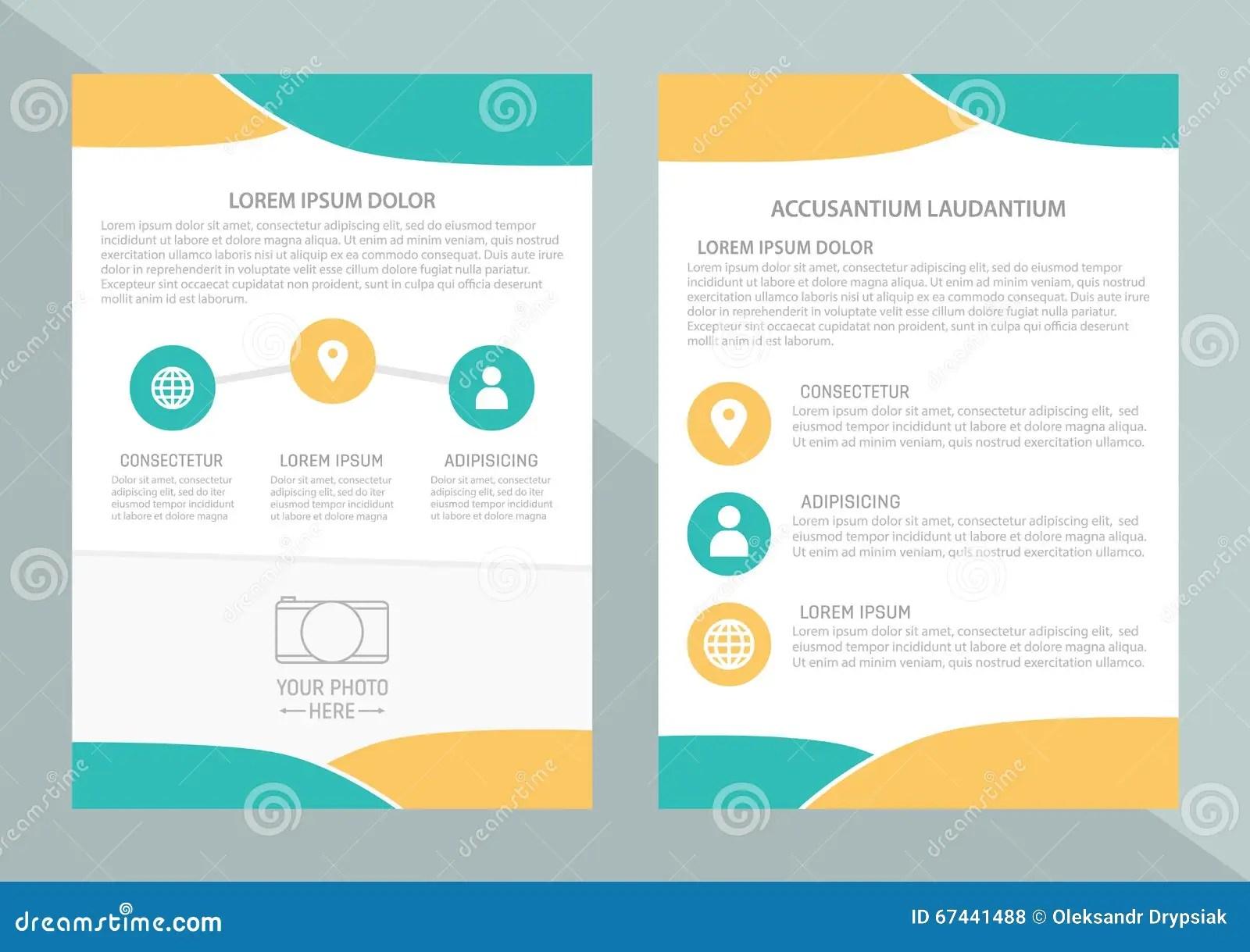 Magazine Inner Page Design Design Bild
