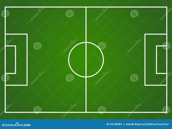 vector football field stock