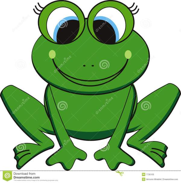 Frog Clip Art Vector
