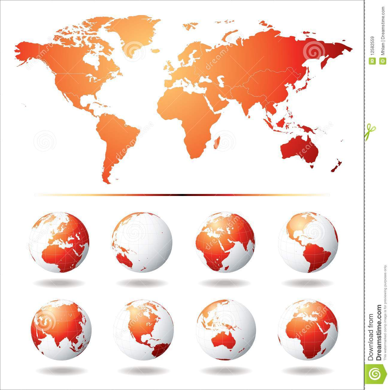 Difference Between Globe And Map