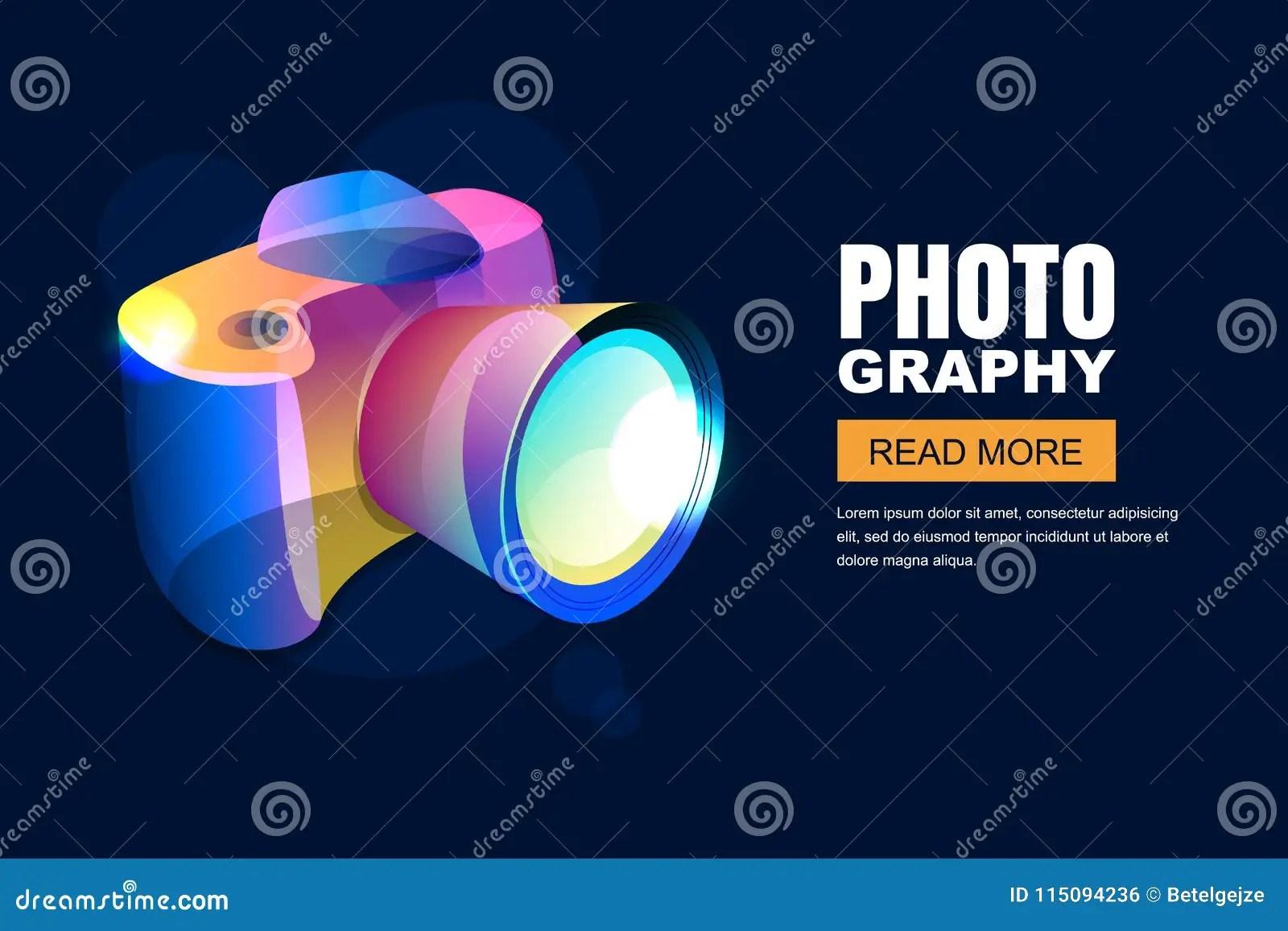 vector glowing neon photo