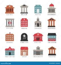 City Vector Government Icon