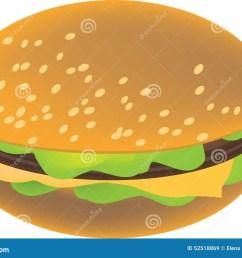 vector hamburger clipart image [ 1300 x 982 Pixel ]