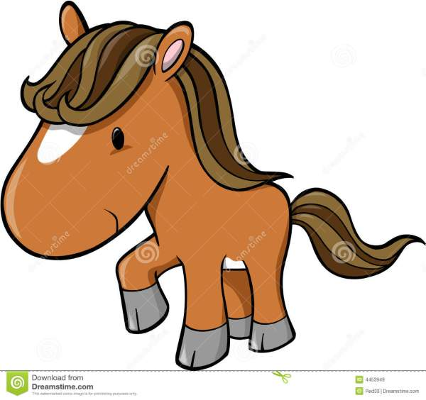 Vector Of Horse Royalty Free Stock - 4453949