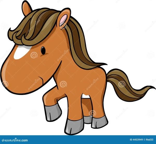Cute Baby Horse Clip Art