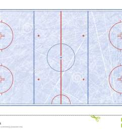 vector of ice hockey rink textures blue ice ice rink top view vector illustration background  [ 1300 x 791 Pixel ]