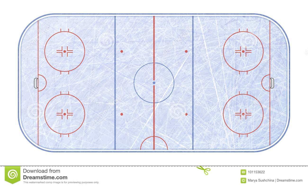 hight resolution of vector of ice hockey rink textures blue ice ice rink top view vector illustration background