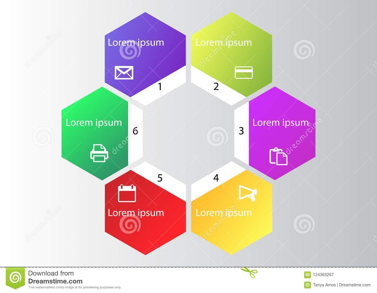 hight resolution of marketing infographic cycle diagram global business graph presentation chart 1 2