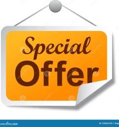 special offer tag label orange [ 1300 x 1287 Pixel ]