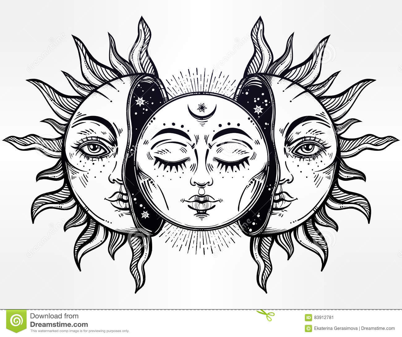 Sun Illustration Cartoon Vector