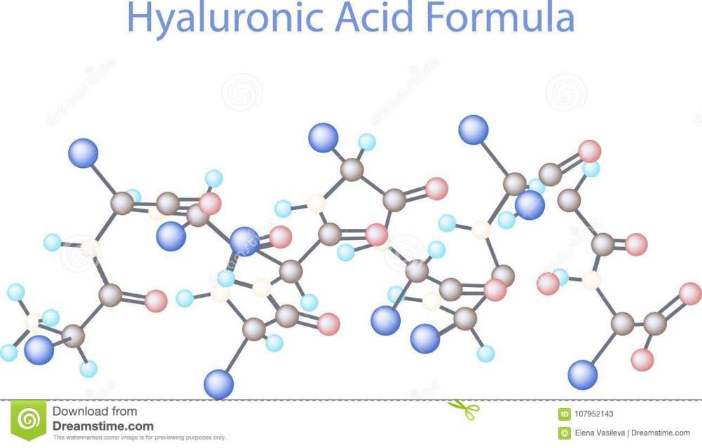 medium resolution of vector infographics scientific background hyaluronic acid research