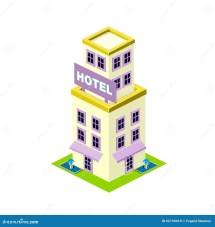 Hotel Building Icon