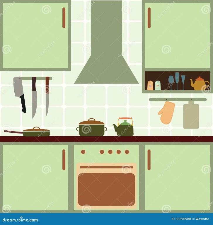 Vector Illustration Kitchen Tools