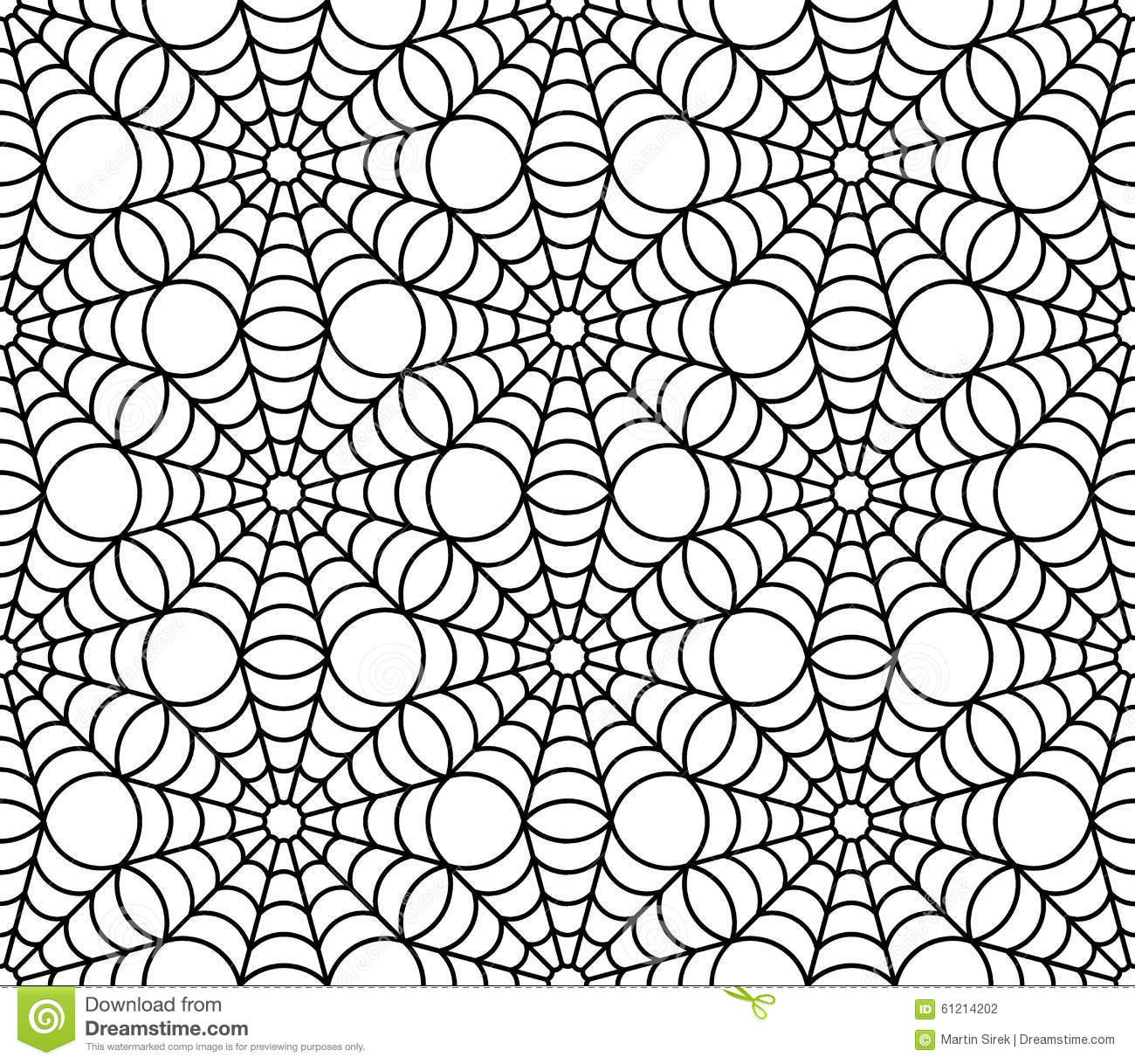 Vector Seamless Pattern With Black And White Abstract - Auto ... on