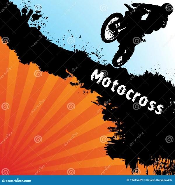 Motocross Silhouette Clip Art