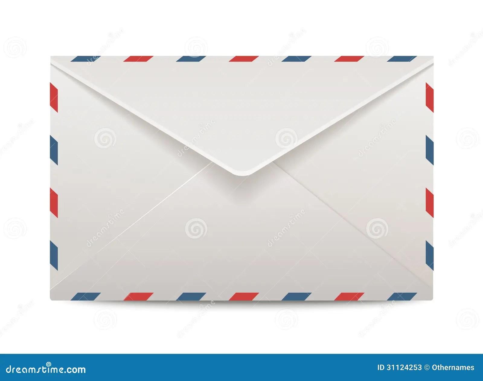 Vector post envelope stock vector Illustration of background  31124253