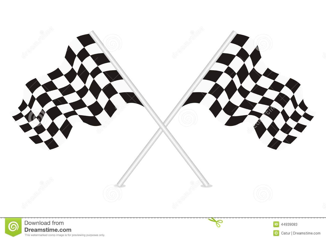 Vector Of Racing Flags Stock Vector Illustration Of