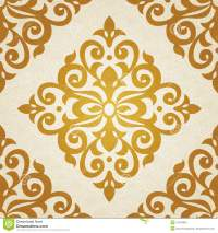 Vector Seamless Pattern In Victorian Style. Stock Vector ...