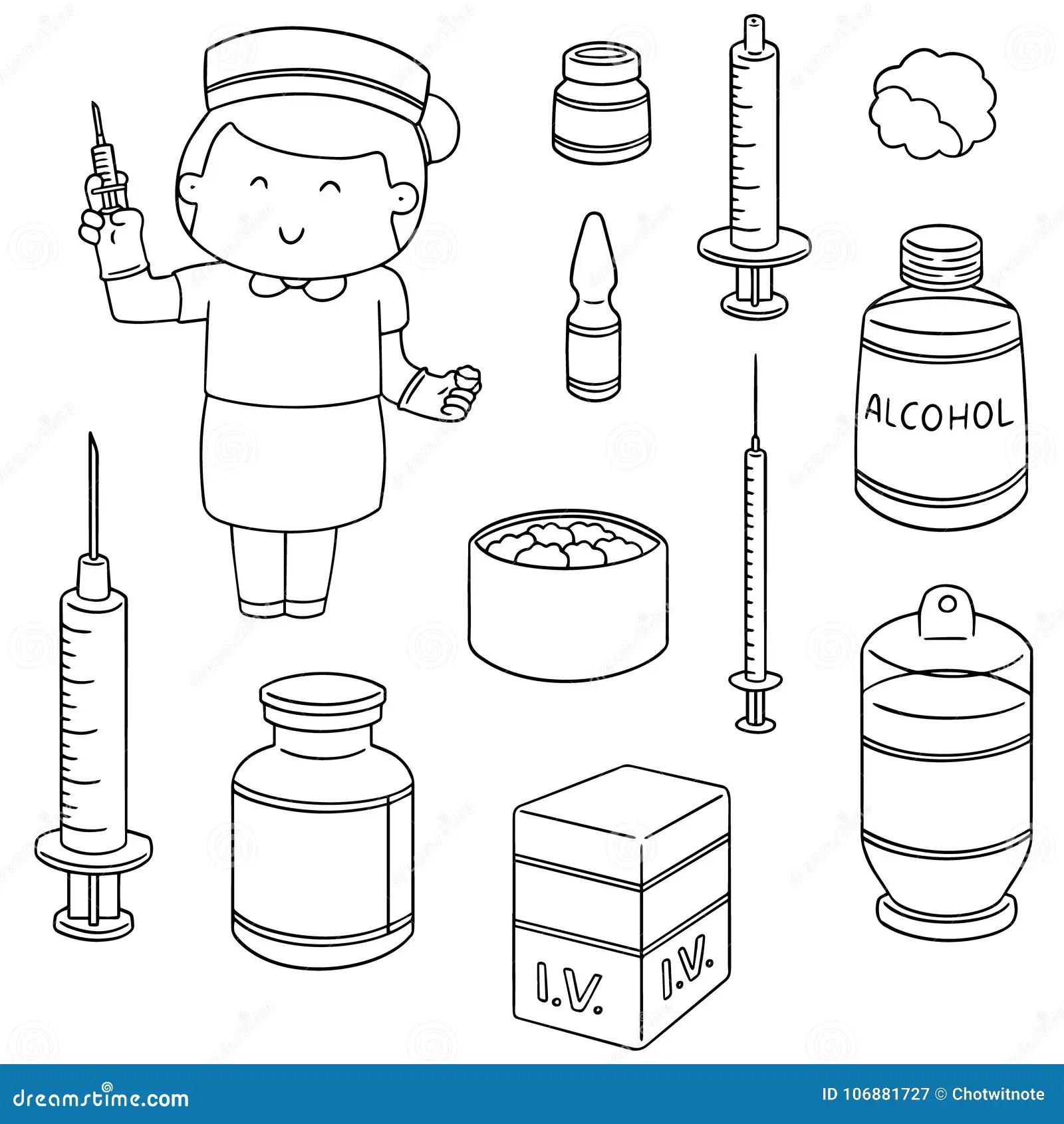 Nurse Injection Cartoon Stock Illustrations 1 609 Nurse