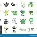 Vector Set Of Tea Shop And Cafe Logos Stock Illustration Illustration Of Logo Breakfast 168013758