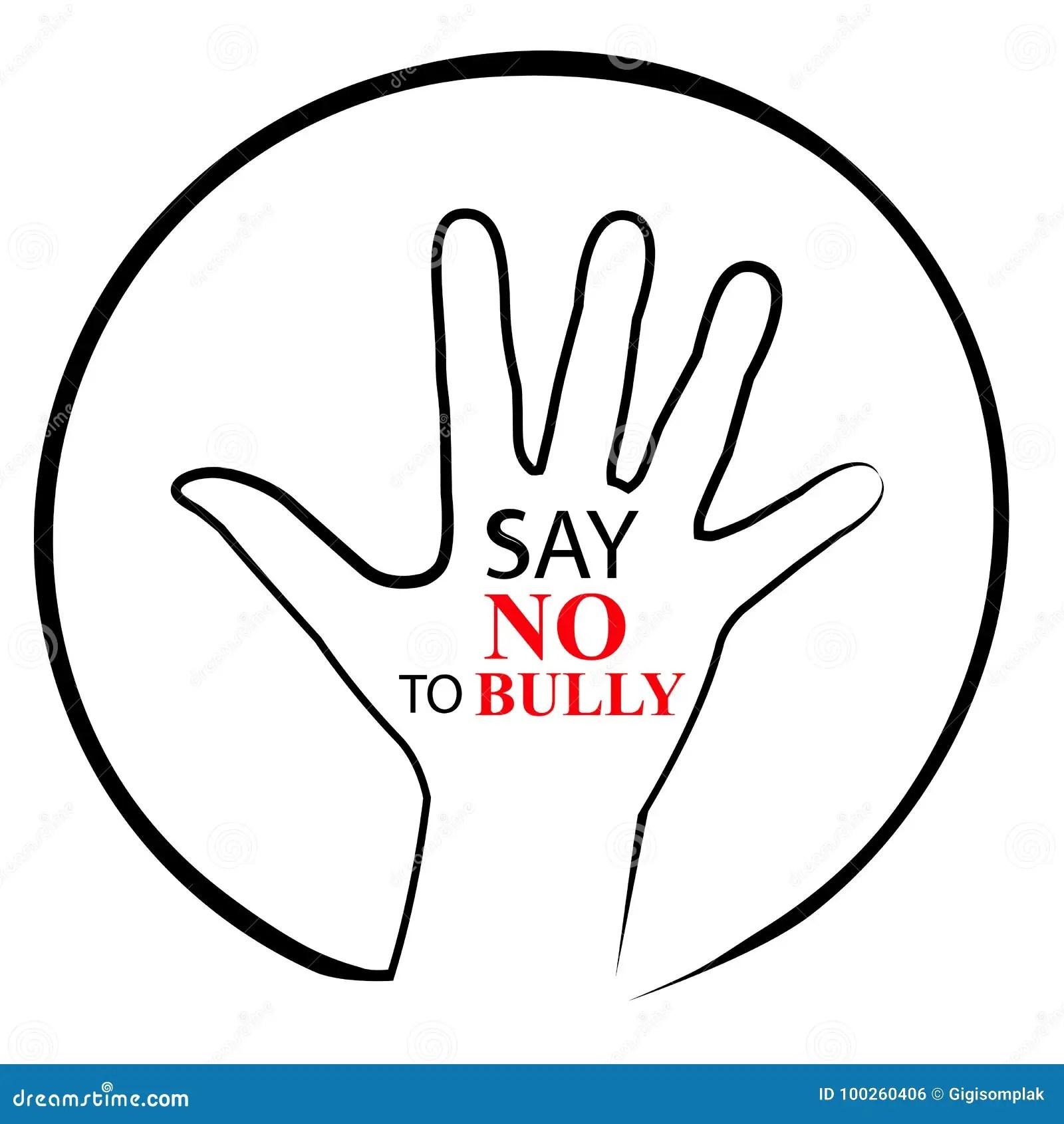 Bully Free Zone Royalty Free Stock Image