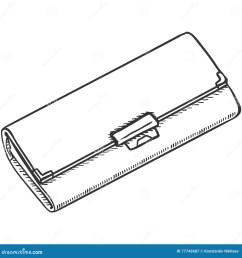 vector single sketch womens purse [ 1300 x 1390 Pixel ]