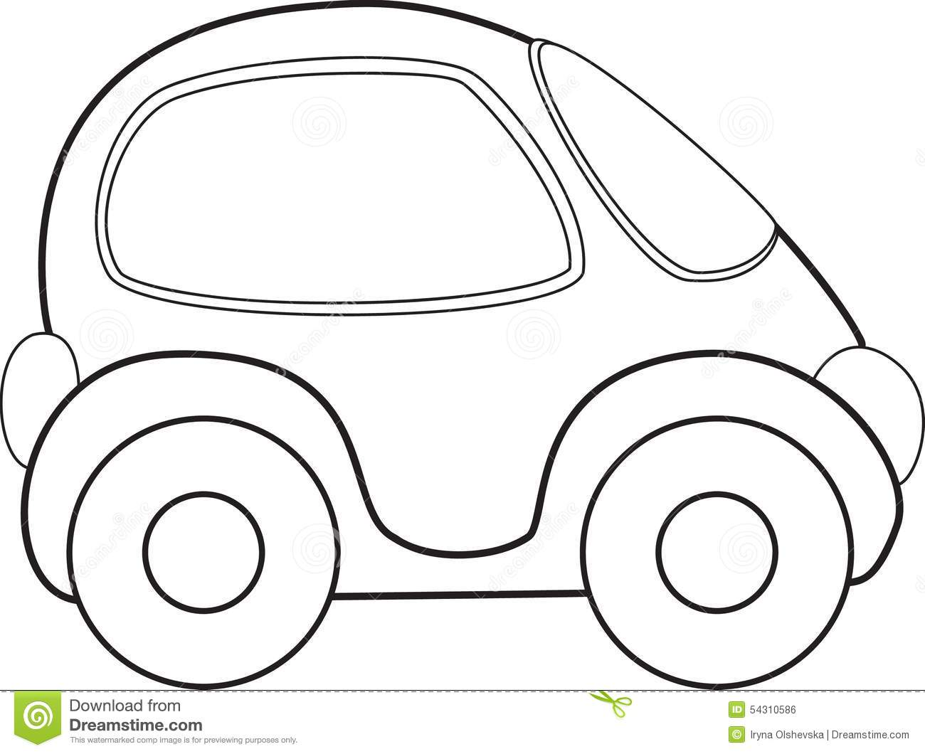 Vector Toy Car Stock Vector Illustration Of Isolated