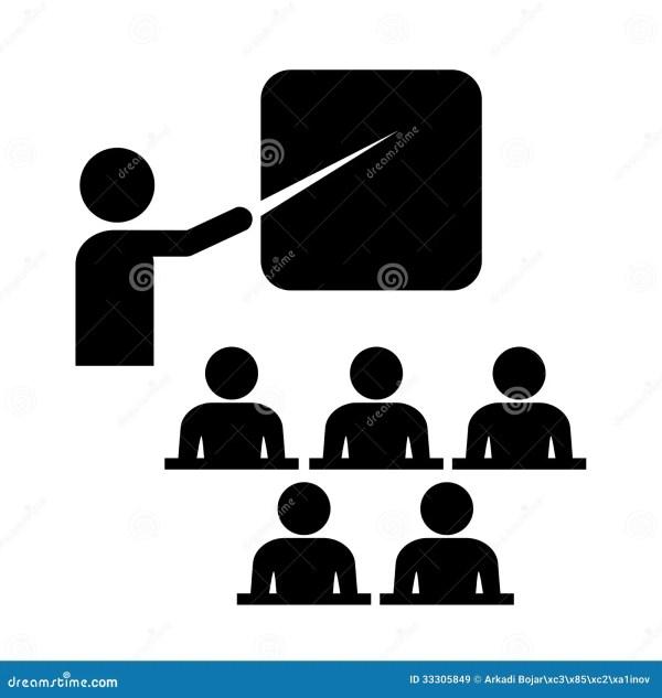 Vector Training Icon Stock Vector. Illustration Of