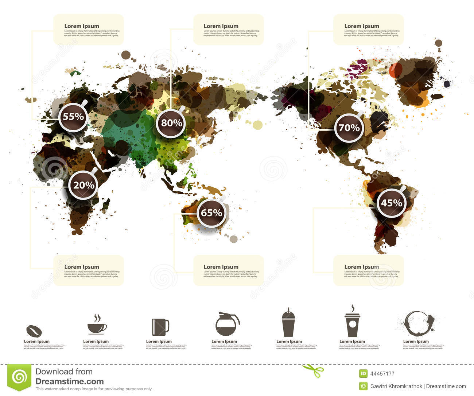 workflow diagram template moen single handle faucet vector world map of coffee ink splatter stock - illustration business, beans: 44457177