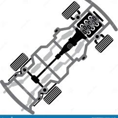 Vehicle Diagram Clip Art 2002 Nissan Sentra Headlight Wiring Frame Vector Stock Image 62494319