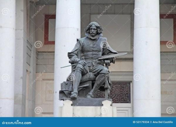 Museo Del Prado Statues