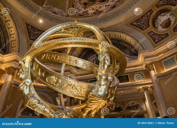 Venetian Hotel And Casino Of Indoor Sculpture