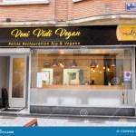 Veni Vidi Vegan Small Organic And Vegan Restaurant In Charleroi Belgium Editorial Image Image Of Design Caroloregien 172894960