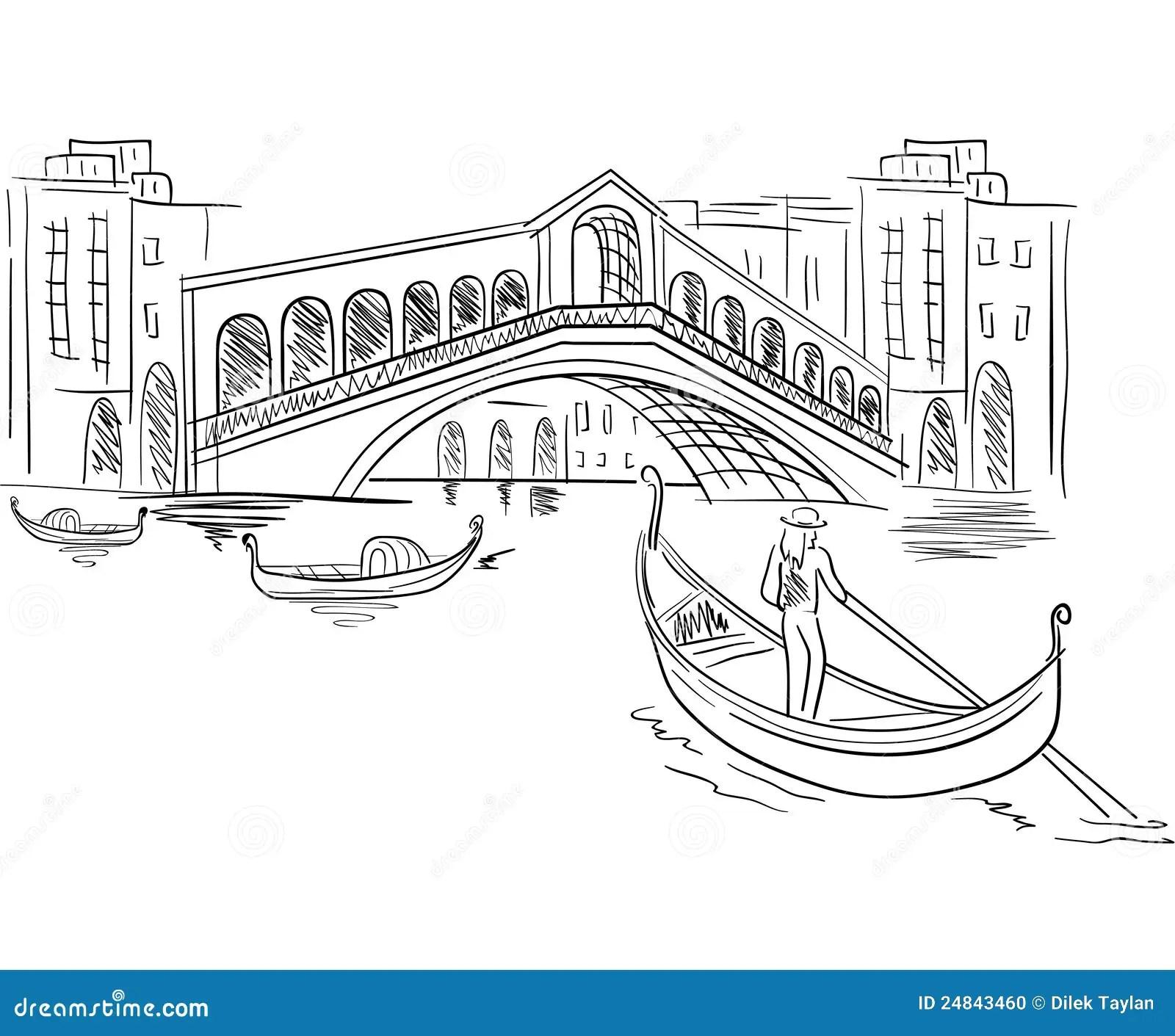Venice Italy Scene Stock Photo