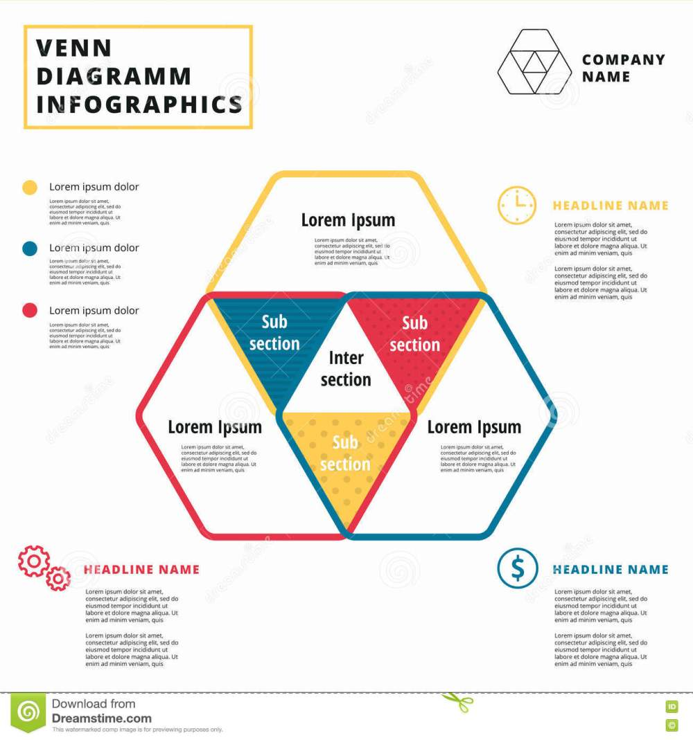 medium resolution of venn diagram vector circles infographics template design overlapping shapes for set or logic graphic illustration