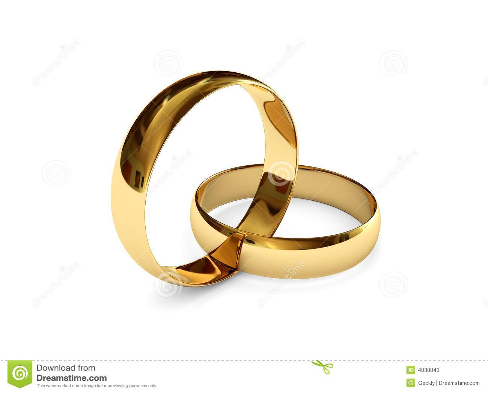Paar Ringe Gold