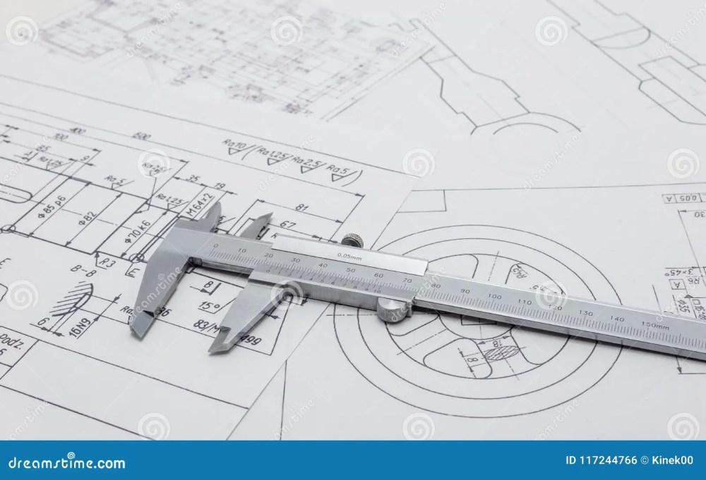 medium resolution of vernier caliper lying on mechanical scheme